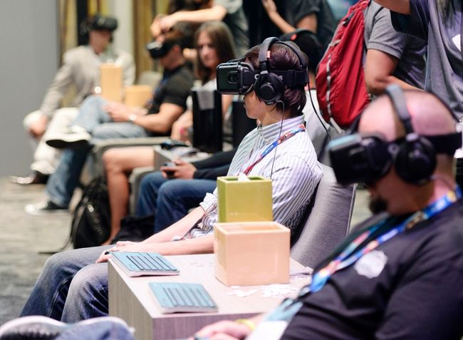 VR in business