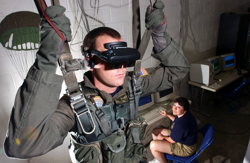 VR Usage in Armed forces