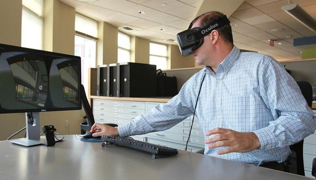 virtual reality to help clients
