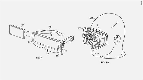 Apple patent of Wireless VR headset.