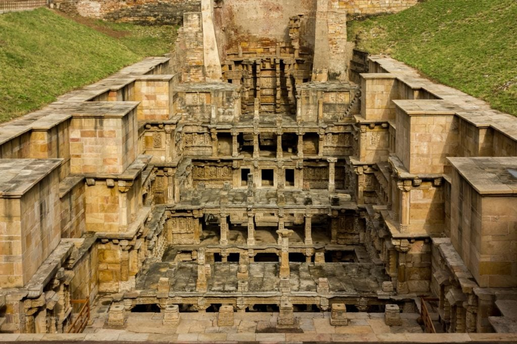 One of the chosen tourism spots- Rani ki vav