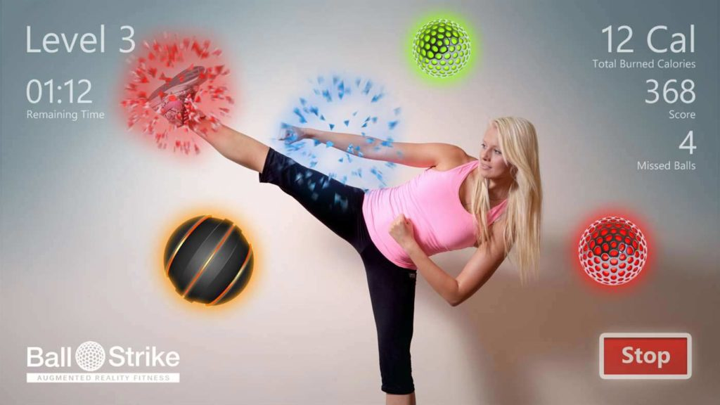 Ball strike- An active approach to lose weight