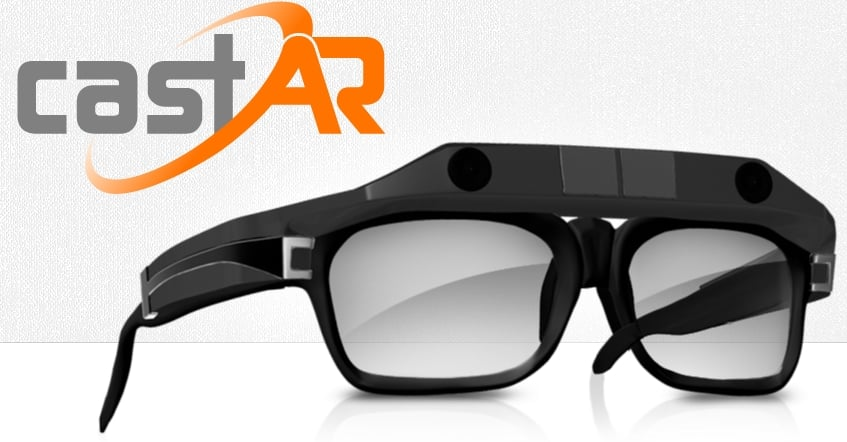AR glasses by CastAR