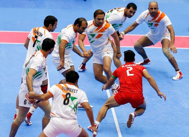 A Kabaddi Game in Action