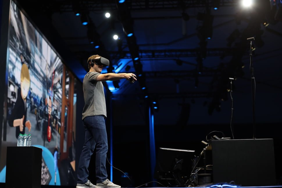 Mark Zuckerberg at 'Oculus Connect 3' Launch