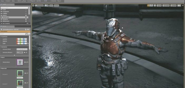 Unreal Engine 4.0, one of the best real-time engine for beginners