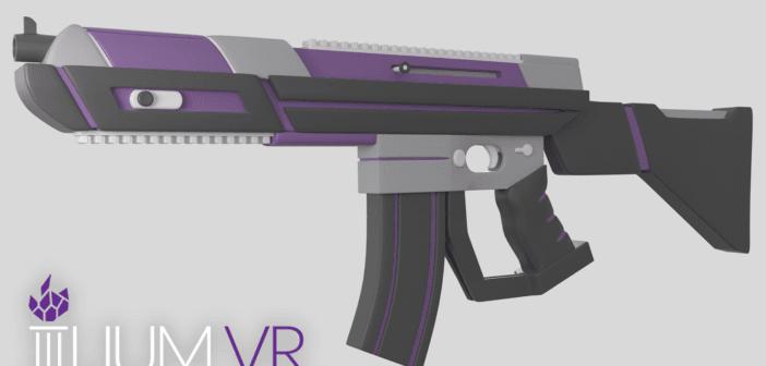 Ilium VR launches Valve powered gun controller called Athena