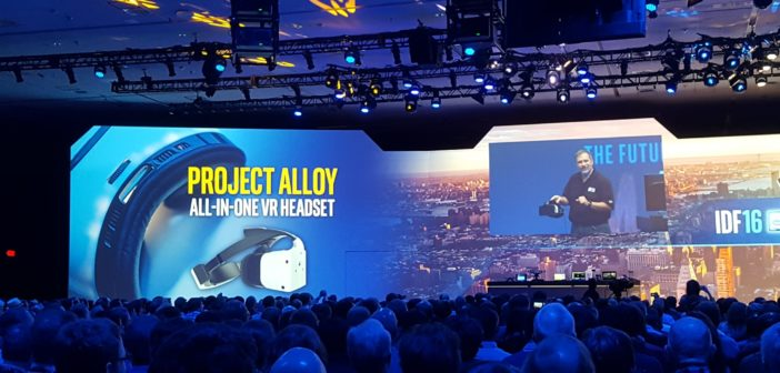 Intel introduces Project Alloy in CES 2017