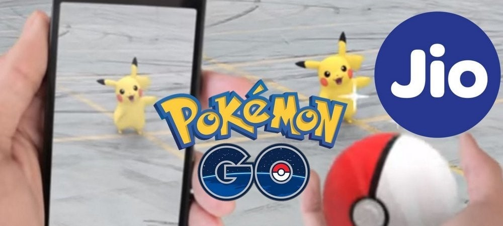 Play Pokemon Go for Free with Jio
