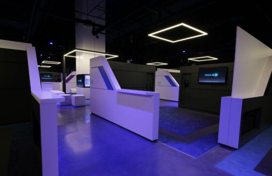 IMAX Virtual Reality Arcade