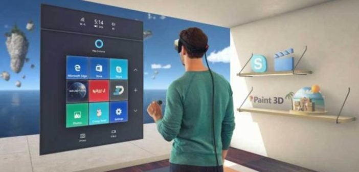 A First for Microsoft with Mixed Reality Technology