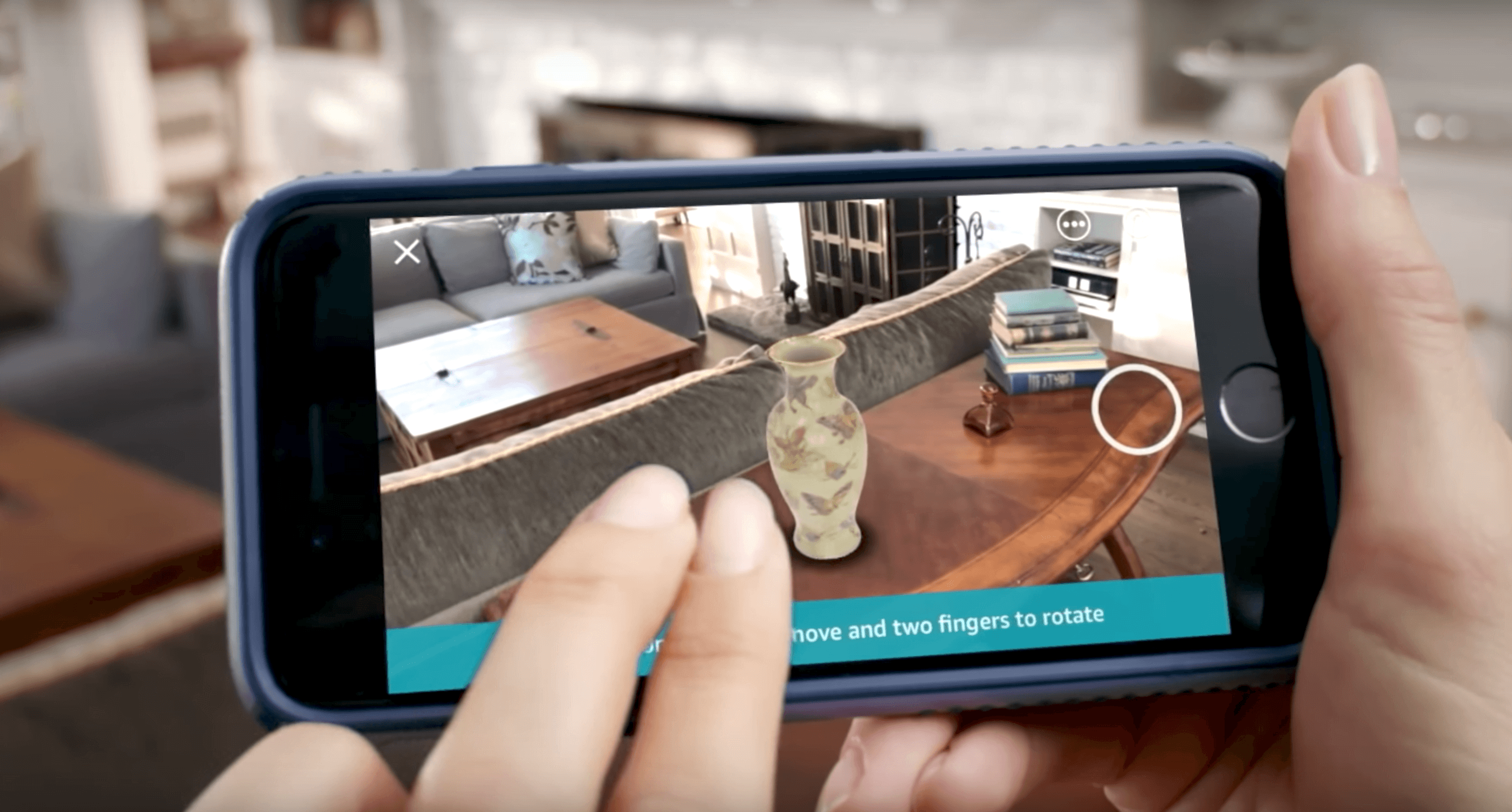 Amazon's Augmented Reality Feature