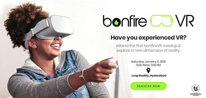 BonfireVR meet-up at Loop Reality office(Hyderabad)