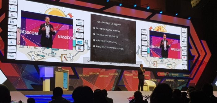 Nasscom WCIT in Hyderabad.
