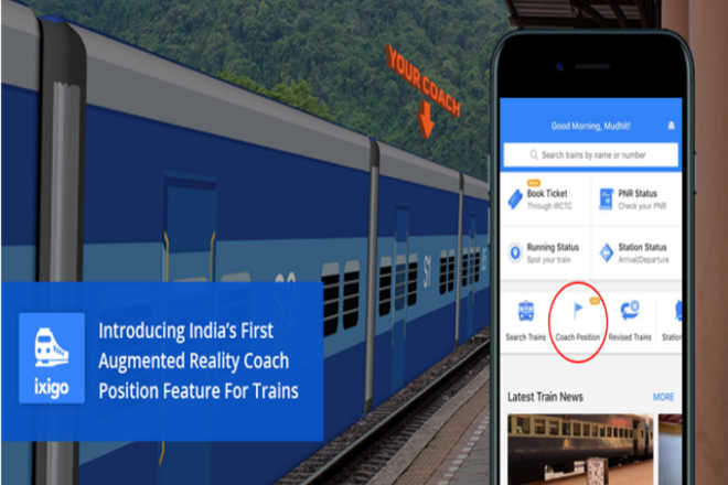 India's First Augmented Reality feature for trains