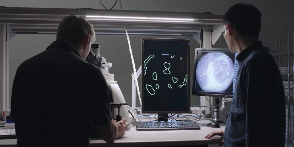 Google's AR Microscope