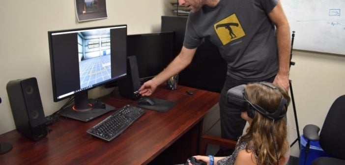 VR simulation teaches children about road safety