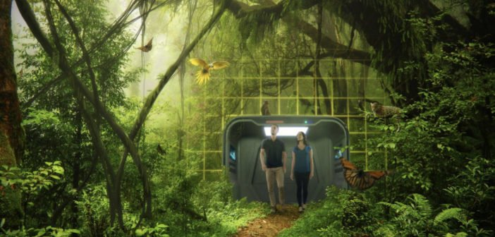 """No Headset – A VR Space Like """"Holodeck"""" from Star Trek May Soon Become Reality"""