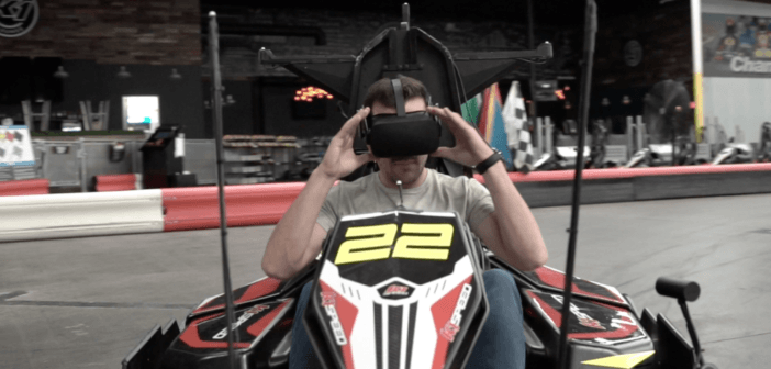 Master of Shapes Combines VR Racing With Real Go Karts