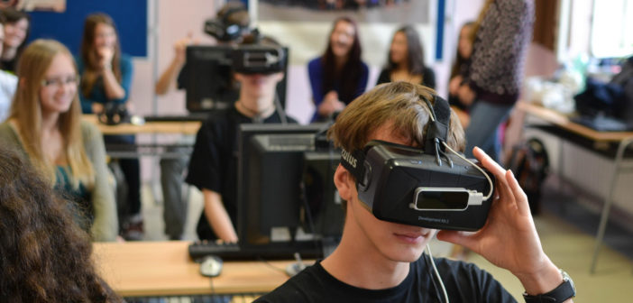 VR technology in education