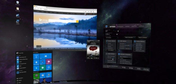 Virtual Desktop-Affinity VR